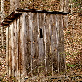 Country Outhouse by Arlane Crump