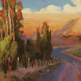Country Road by Steve Henderson