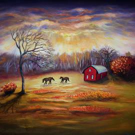 Lilia D - Country scene late fall