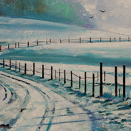 Bill Dunkley - Country Winter Scene