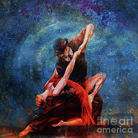 Couple Tango Dance 8885 by Gull G