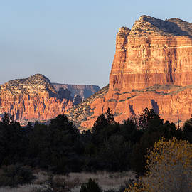 Courthouse Butte From The Ranger Station by Ed Gleichman