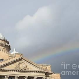 Christina Verdgeline - Courthouse Rainbow