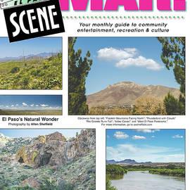 Cover Of El Paso Scene by Allen Sheffield