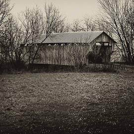 Covered Bridge in Upstate New York by Bill Cannon