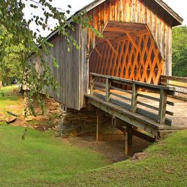 Covered Bridge Spans Auchumpkee Creek by Gordon Elwell