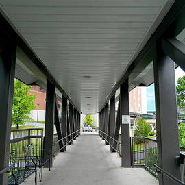 Covered Walkway by Arlane Crump