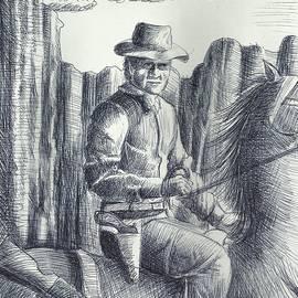 Cowboy by Ahmed Alrassam