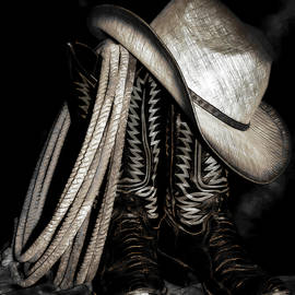 Athena Mckinzie - Cowboy Boots And Hat