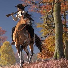 Daniel Eskridge - Cowgirl Autumn