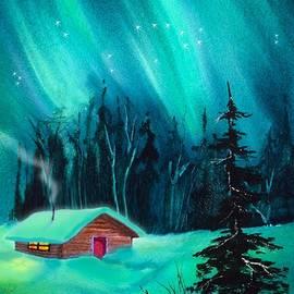 Cozy Cabin by Teresa Ascone