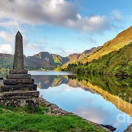 Adrian Evans - Crafnant Lake Obelisk