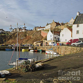 Crail Harbour, Scotland by Liz Alderdice