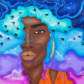 Cranes In The Sky by Aliya Michelle