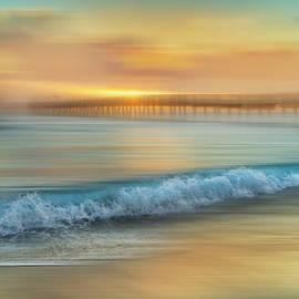 Debra and Dave Vanderlaan - Crashing Waves at Sunrise Dreamscape
