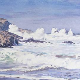 Crashing Waves by Christopher Reid