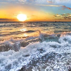 Crashing Waves by Debra and Dave Vanderlaan