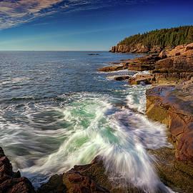 Rick Berk - Crashing Waves in Acadia National Park