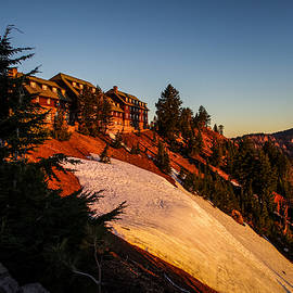 Crater Lake Lodge Sunrise by Scott McGuire