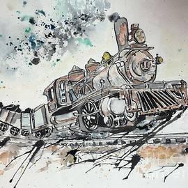 Crazy Train by Denise Tomasura