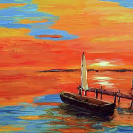 Ken Figurski - Creamsicle Sunset