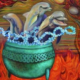 Creation Cauldron by Karen Nell McKean