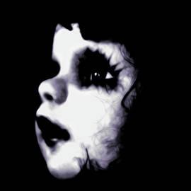 Creepy Doll Face II by Tianxin Zheng