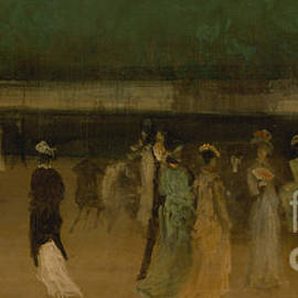 Cremorne Gardens - James Abbott McNeill Whistler