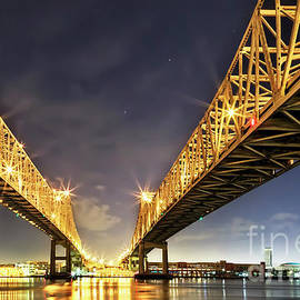 Kay Brewer - Crescent City Bridge in New Orleans