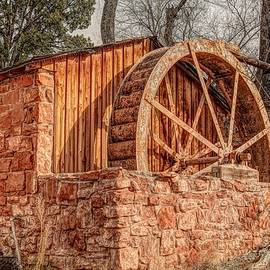 Donna Kennedy - Crescent Moon Ranch Water Wheel