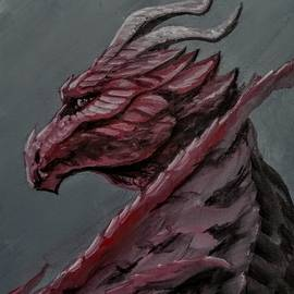 Crimson Dragon by Jennifer Hotai