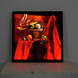 Crimson Glow by Rebecca Giles