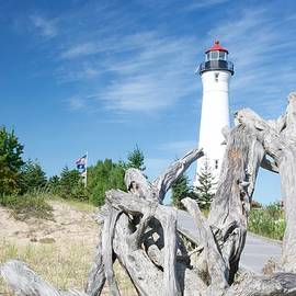Michael Peychich - Crisp Point Lighthouse on Lake Superior