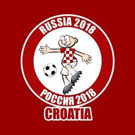 Croatia in the Soccer World Cup Russia 2018 by Daniel Ghioldi