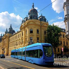 Croatian Railways Building, Zagreb by Jasna Dragun