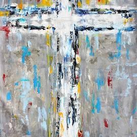 Karen Tarlton - Cross Abstract