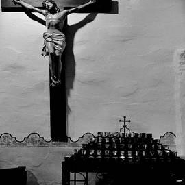 Cross Mission San Diego de Alcala by Christine Till