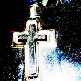 Del Cain - Cross#1-White Cross