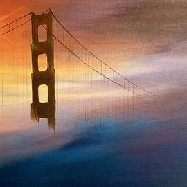 Crossing The Bridge  by Marina Hanson