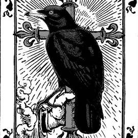 Crow Tarot The Trickster  by Sandra McGinley