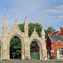 Crown Hill Cemetery Gate