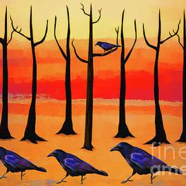 KaFra Art - Crows On Parade