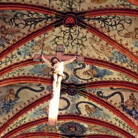 Sarah Loft - Crucifix in the Carmelite Convent Church in Mainz