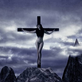 Ramon Martinez - Crucifixion on the Mountain