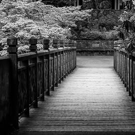 Crystal Garden Bridge by Steven Clark