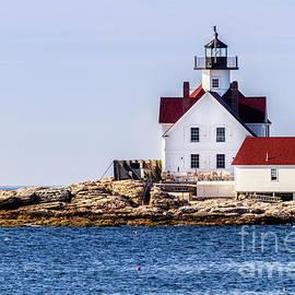 Dawna  Moore Photography - Cuckolds Lighthouse near Southport Island Maine