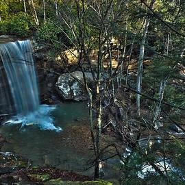 Cucumber Falls Ohiopyle PA by Mark Milar