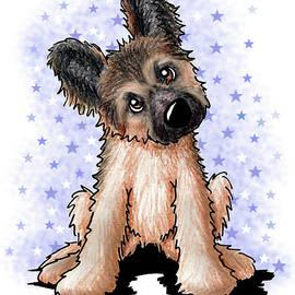 Kim Niles - Curious Shepherd Puppy