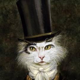 Curmudgeon Cat by Stella Violano
