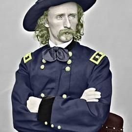 Custer Color Portrait by John Feiser